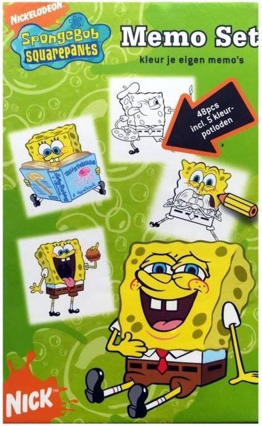 Afbeelding van het spel Spongebob Squarepants Memo Set