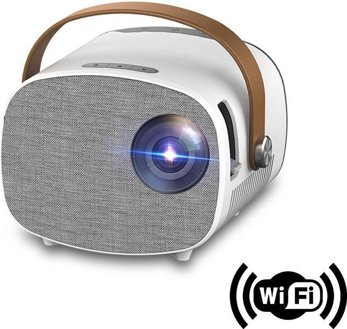 Mini Beamer - Smartphone Functie - Beamer Projector -  Wifi Functie - Beamer scherm - Films - Games