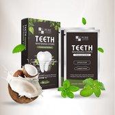 Pure Luxure Teeth whitening strips - Tanden bleken - Tandenbleek strips - 14 paar - 100% natuurlijk & peroxidevrij