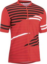 Gonso Agno Fietsshirt - Maat XXL  - Mannen - rood/zwart/wit