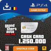 GTA V - digitale valuta - 1.250.000 GTA dollars Great White Shark - BE - PS4 download