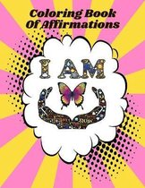 I Am Coloring Book Of Affirmations