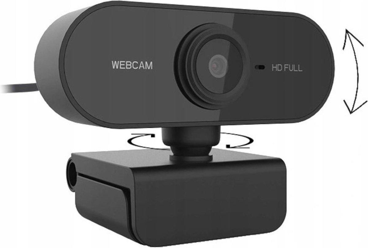 DUXO WEBCAM-PC01 FullHD 1080P USB-webcam met microfoon