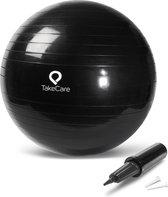 Take Care Gymball, Yogaball, Fitnessball met pomp 65 cm