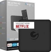 Nintai Ematic Pro X - Android TV box - Officiële AndroidTV - Netflix in 4K - Ingebouwde Chromecast - Netflix box - Set Top Box
