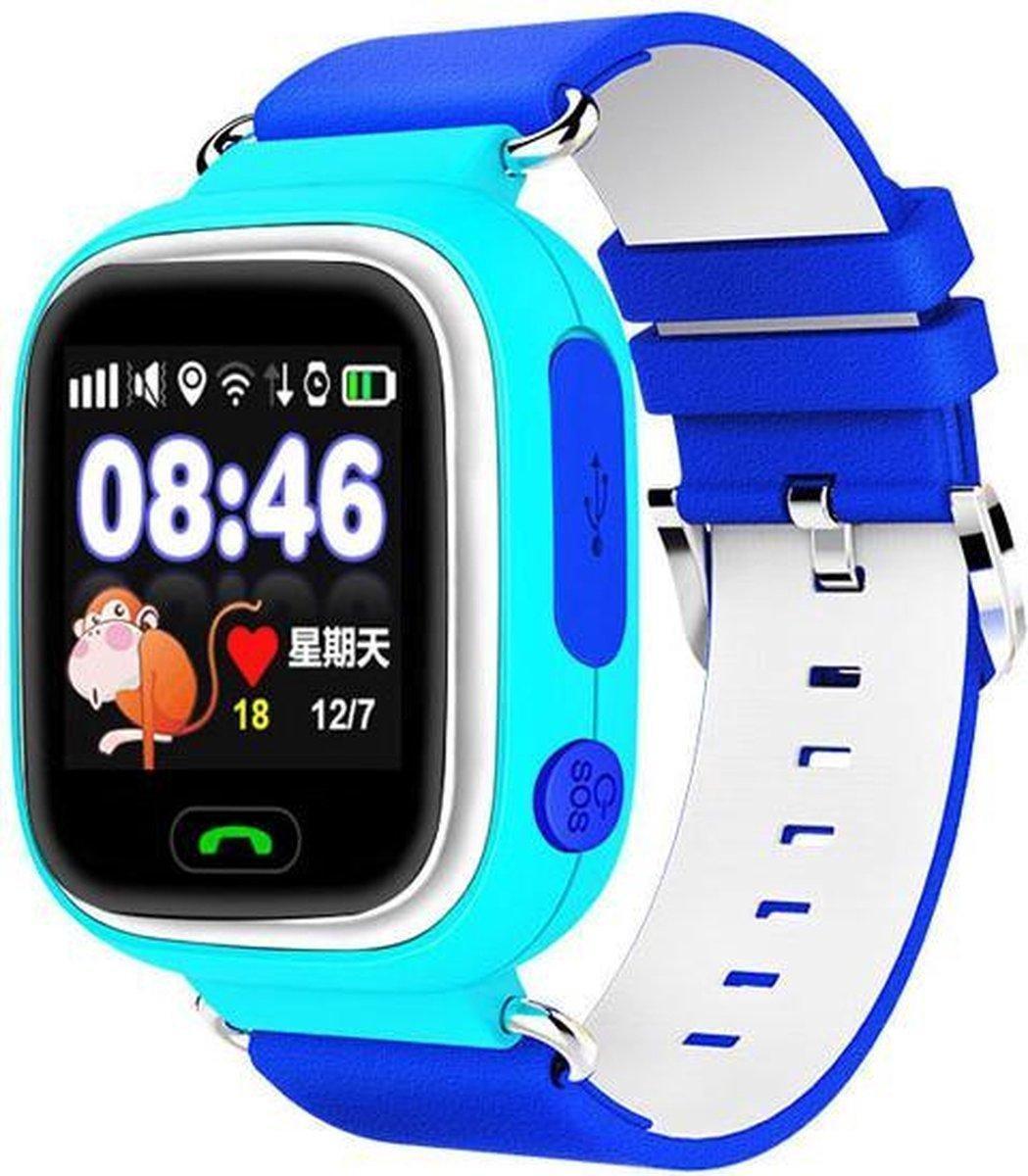 GPS Horloge Kind WBTT® - GPS Tracker Kind - Blauw - GPS Horloge kinderen