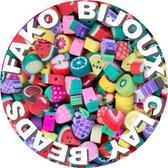 Fako Bijoux® - Klei Kralen Fruit - Figuurkralen - Kleikralen - 10mm - 100 Stuks