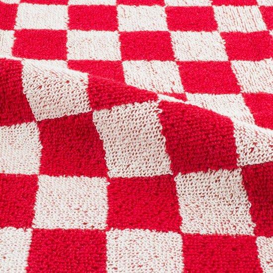 Keukendoek Blok rood