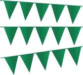 e-Carnavalskleding.nl Vlaggenlijn donker groen |donker groene slinger 10 meter