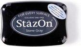 Stazon sneldrogend stempelkussen Stone Gray