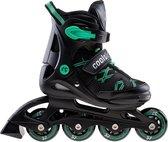 Coolslide Nachos  Inlineskates - Maat 32-35 - Unisex - zwart/groen