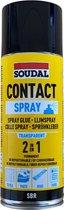 Lijmspray - Spuitlijm - Hobby - Professioneel - Soudal - Transparant - Contactspray - Spuitbus 300ml