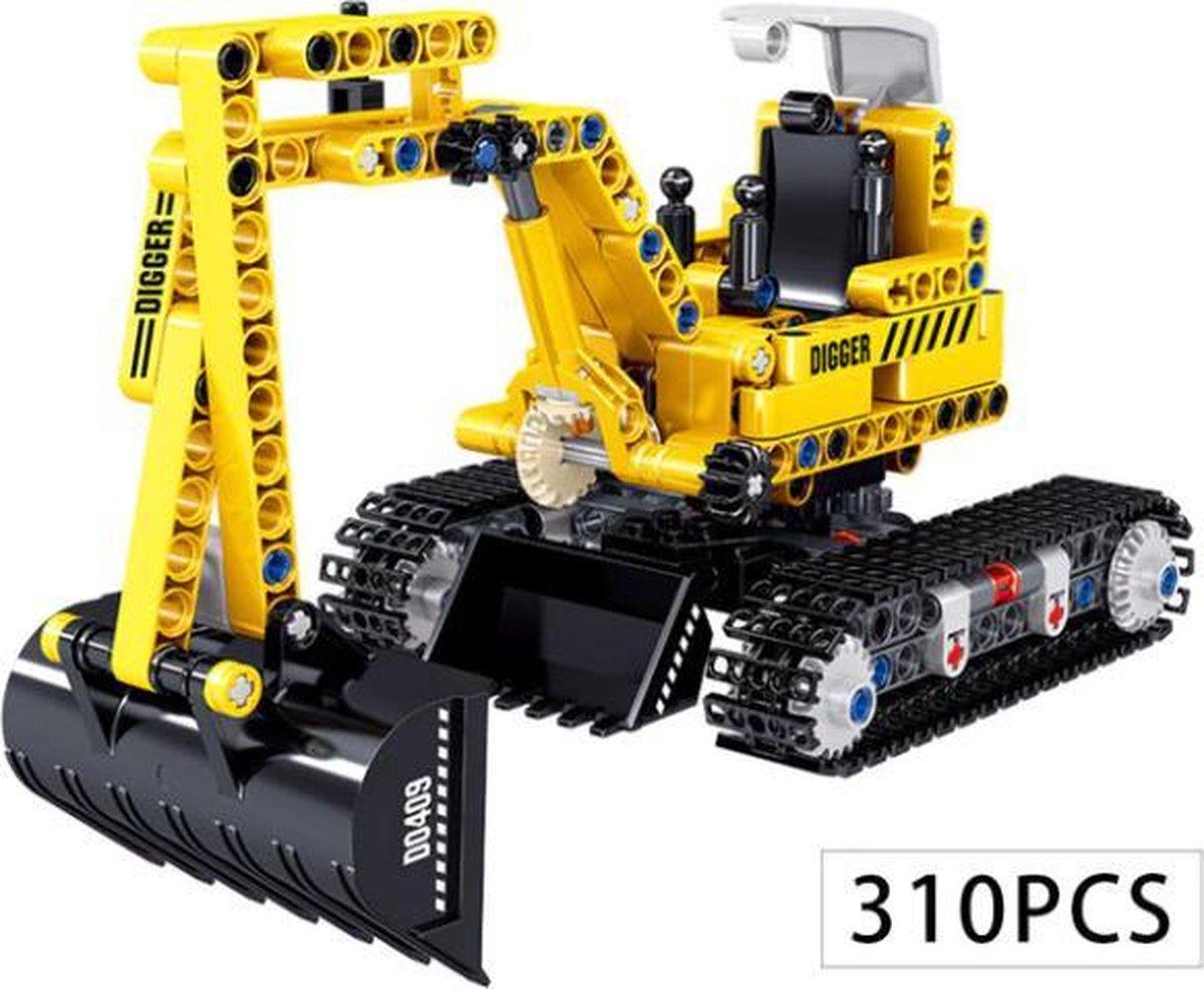 Technisch Lego - Technic - geschikt voor LEGO - Bouwplaats - Graafmachine