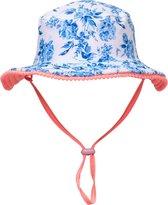Snapper Rock Meisjes Zonnehoed  - Blauw / Roze - Maat S