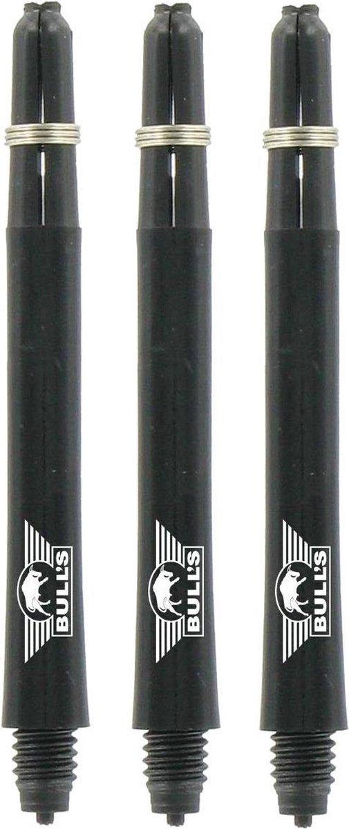 Bull's - Nylon + Ring - Medium - Zwart