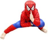 WiseGoods - Spiderman Pak - Verkleedpak Jongens - Verkleedkleding - Kinderkostuum - Kind 5-6 jaar - 110-116 - Rood / Blauw