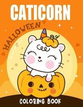 Halloween Caticorn Coloring Book