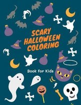 Scary Halloween Coloring Book for Kids