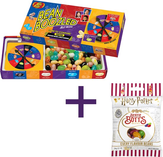Bean Boozled Challenge 5e Editie  + Harry Potter Smekkies in alle smaken - leukste snoepspel