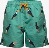 Osaga jongens zwemshort met toekan print - Groen - Maat 116
