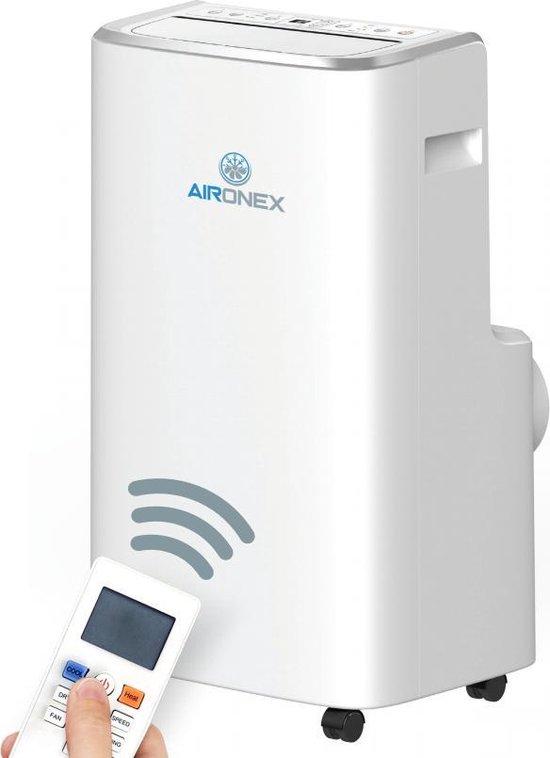 Mobiele Airco Aironex 12000 BTU - Airconditioner Wit - Airco met...