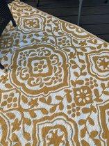 Buitenkleed-Buitenvloerkleed Oker Geel 118x180 cm,merk Anna's Collection