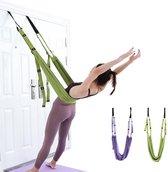Yoga Swing | Yoga Hangmat | Yoga | Hangmat | Groen | Roegaarden