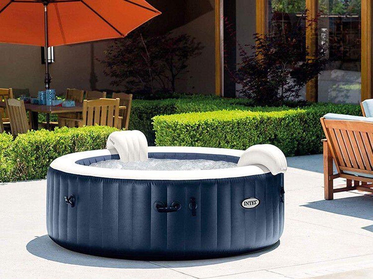 Intex PureSpa Navy Bubbel Opblaasbare Jacuzzi 4-persoons | Opblaasbare spa