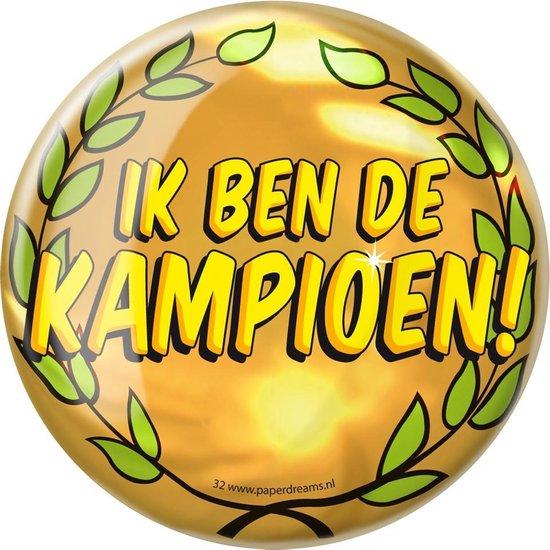 Paperdreams - Button XL - Kampioen