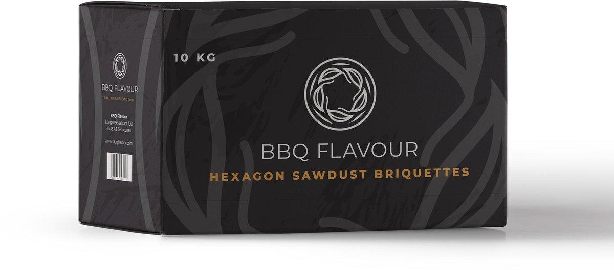 BBQ Flavour | Sawdust Hexagon | Greek Fire | Briketten