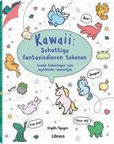 Kawaii: schattige fantasiedieren tekenen