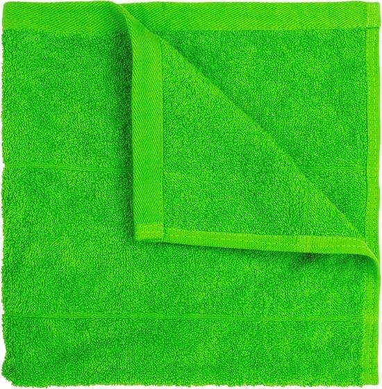 I2T Keukendoeken 50x50 cm - Set van 4 - Lime - 500 gr/m²