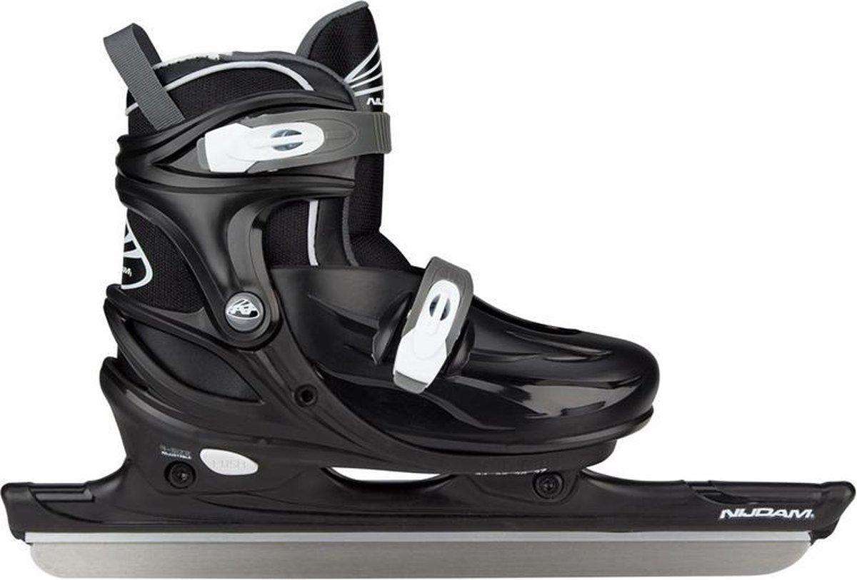 Nijdam Junior Verstelbare Noren30/33 34/37 38/41 schaatsen zwart