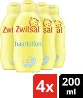 Zwitsal Baby Goedemorgen Haarlotion - 4 x 200 ml - Voordeelverpakking