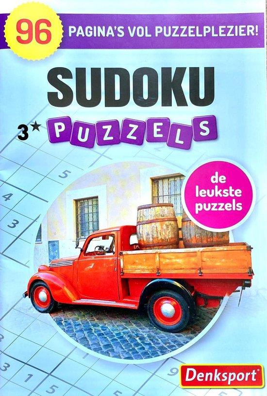 Afbeelding van Sudoku | Puzzelboek | Denksport | Puzzel Denksport puzzelboekjes | Sudoku denksport|puzzelboeken | sudoku puzzelboeken | puzzelboeken volwassenen denksport | | sudoku denksport | sudoku volwassenen kruiswoordraadsels denksport | sudoku puzzelboeken