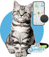Spotter Huisdier GPS Tracker Kat - Zonder Abonnement - Activity Tracker - Waterdicht