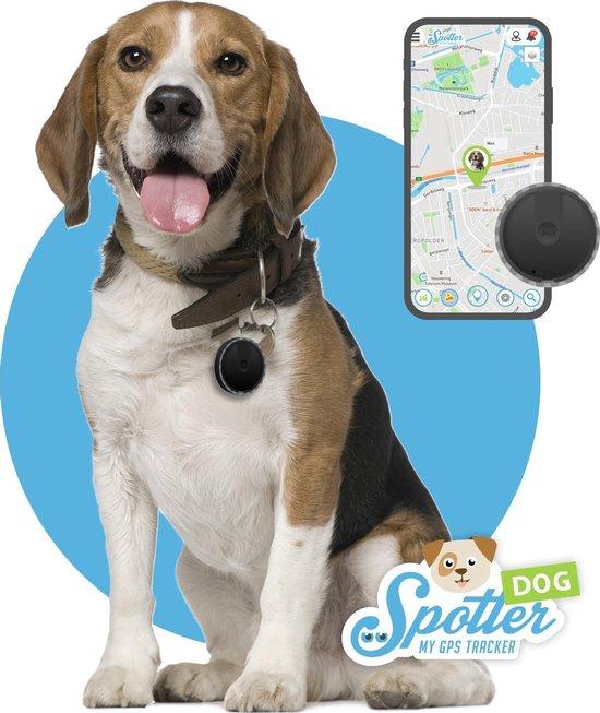 Spotter Huisdier GPS Tracker Hond - Zonder abonnement - Activity Tracker - Waterdicht
