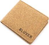 Bluxer® 100% Natuurlijk Kurk Portemonnee - Duurzaam - Biologisch Afbreekbaar - Unisex - Lichtbruin