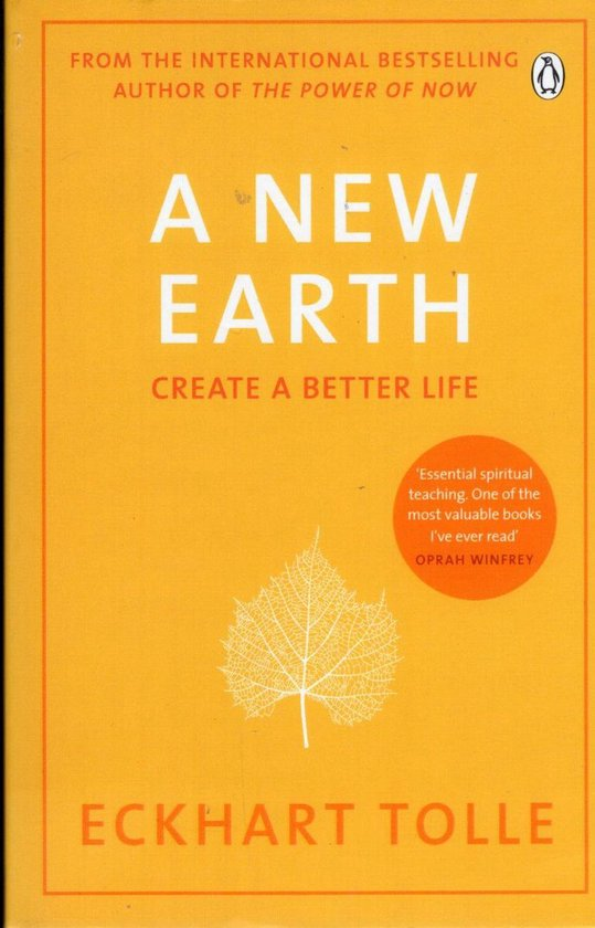 Boek cover A New Earth van Eckhart Tolle (Paperback)
