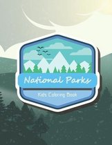 National Parks Kids Coloring Book