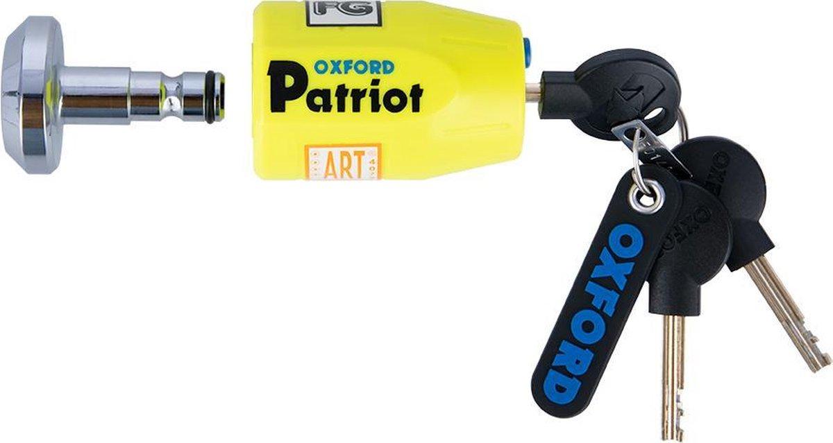 Oxford Schijfremslot Patriot 14mm pen / ART-4