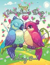 Happy Valentine's Day Coloring Book