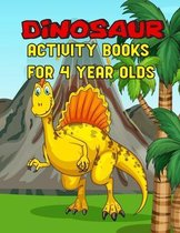Dinosaur Activity Books For 4 Year Olds