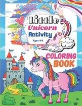 Little Unicorn Activity Coloring Book