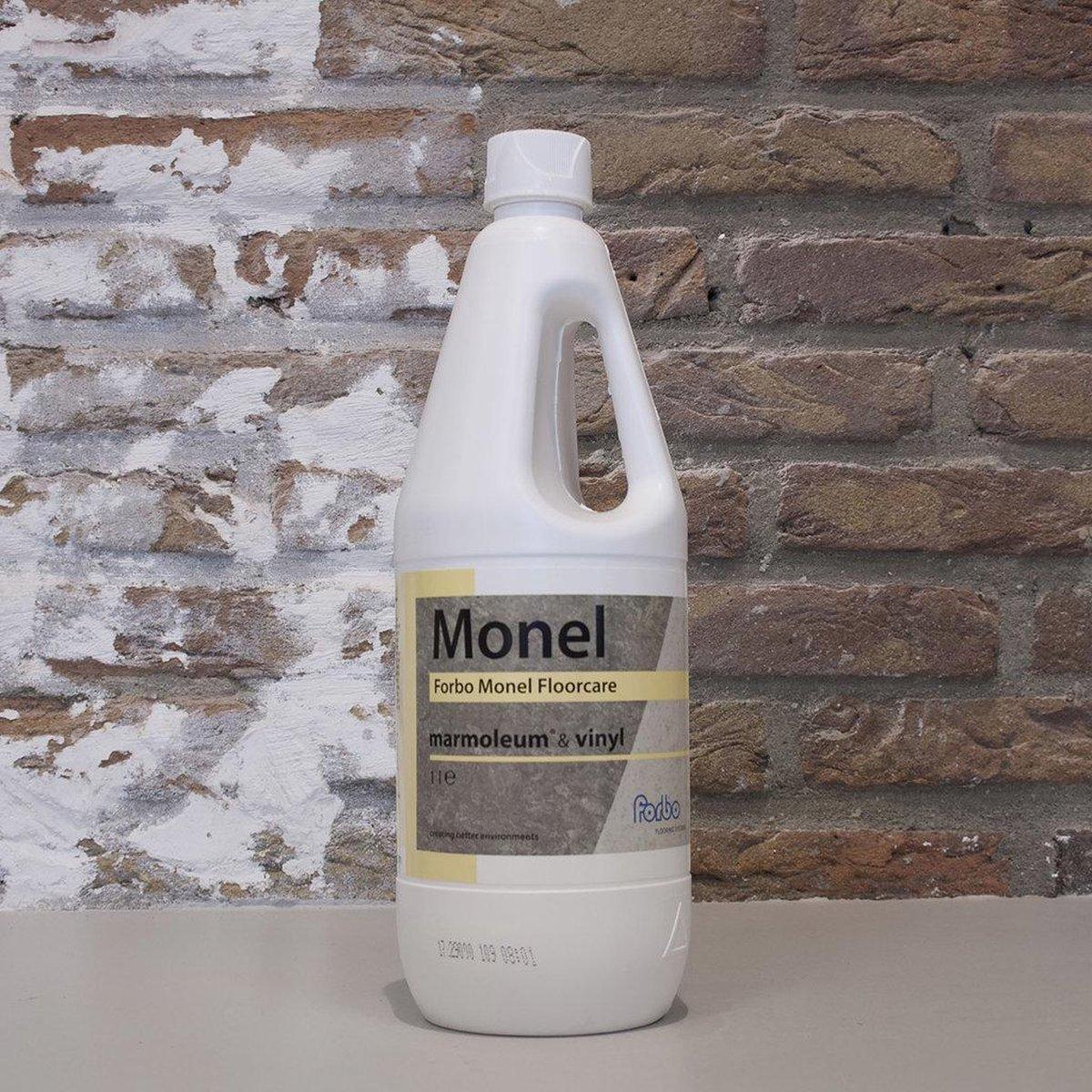 Forbo Monel Floorcare 1 liter   Reinigen en Onderhoud van Mamoleum - Vinyl vloeren