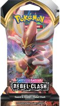 Pokémon Sword & Shield Rebel Clash Sleeved Booster - Pokémon Kaarten