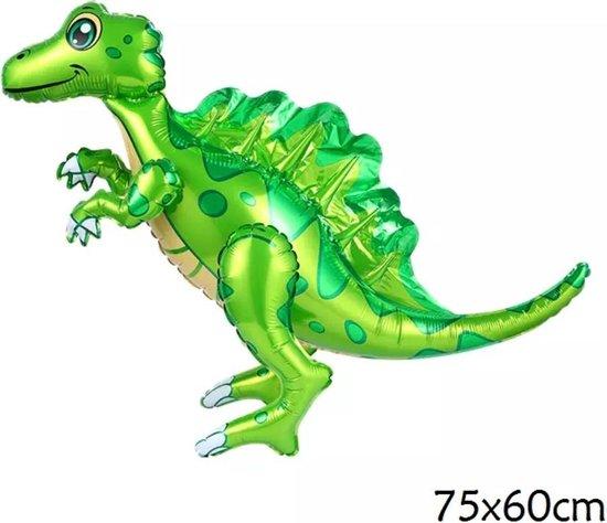 folieballon T-rex, SPINOSAURUS dinosaurus 75x60cm kindercrea