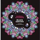 Kleurboek - Mandala kleurboek black edition - 46 mandala's met zwarte achtergrond