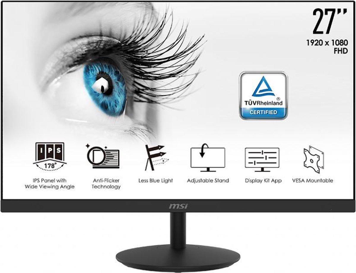 MSI Pro MP271 – Full HD IPS Monitor – 27 inch