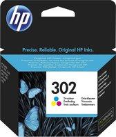 HP 302 - Inktcartridge - Driekleuren